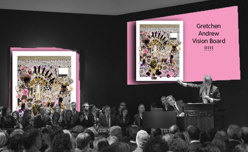 contemporary art auction record